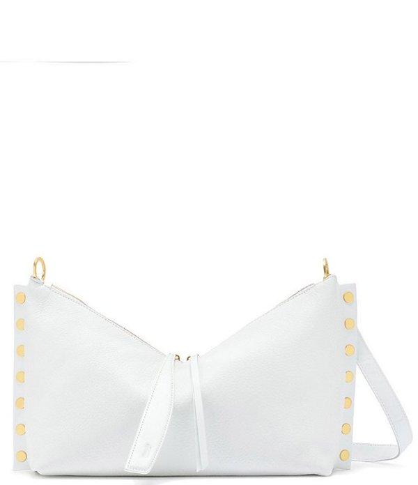 ハミット レディース ショルダーバッグ バッグ Mr. Greenberg Studded Hobo Bag Ceramic White