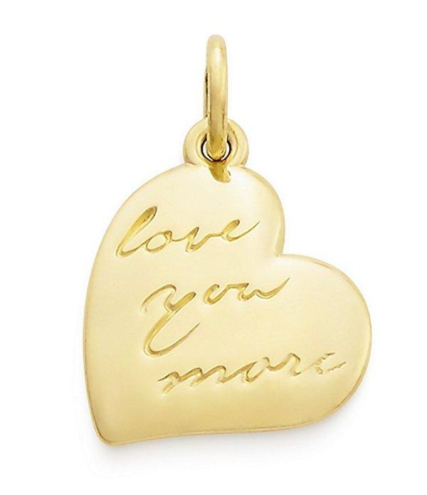 ジェームズ エイヴリー レディース ネックレス・チョーカー アクセサリー Love You More Charm Gold