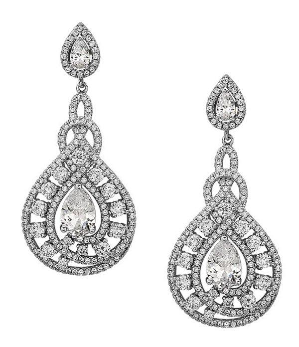 ニナ レディース ピアス・イヤリング アクセサリー Eppie Glamorous Crystal Earrings Silver/Crystal