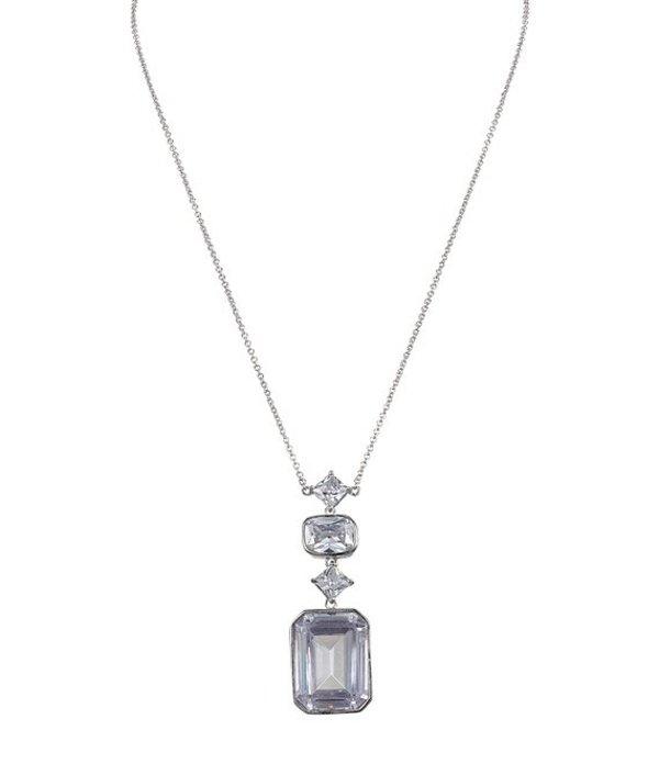 ニナ レディース ネックレス・チョーカー・ペンダントトップ アクセサリー Ziva Deco CZ Y-Necklace Silver/Crystal