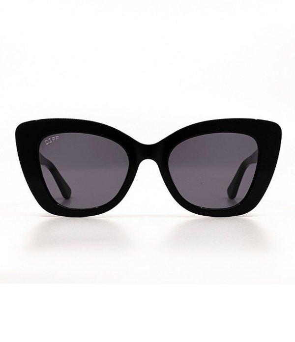 ディフアイウェア レディース サングラス・アイウェア アクセサリー Raven Thick Cat Eye Sunglasses Black