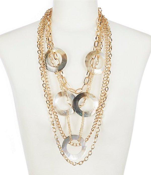 ナターシャ アクセサリー レディース ネックレス・チョーカー アクセサリー Long Multi Strand Necklace Gold