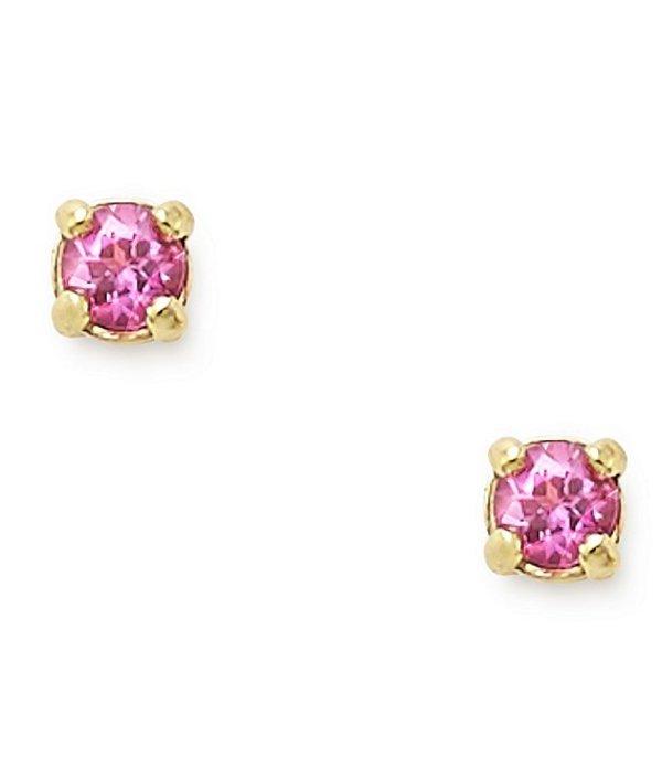 ジェームズ エイヴリー レディース ピアス・イヤリング アクセサリー Petite Birthstone Ear Posts with Lab-Created Sapphires Gold/Pink