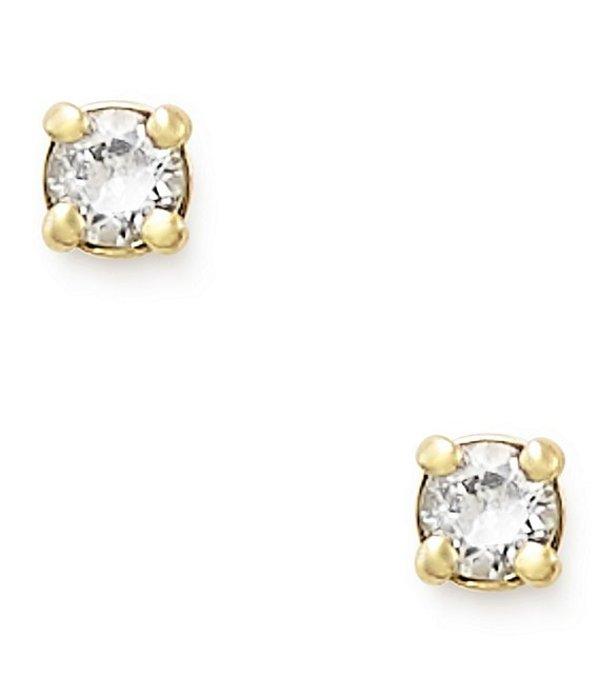 ジェームズ エイヴリー レディース ピアス・イヤリング アクセサリー Petite Birthstone Ear Posts with Lab-Created Sapphires Gold/White