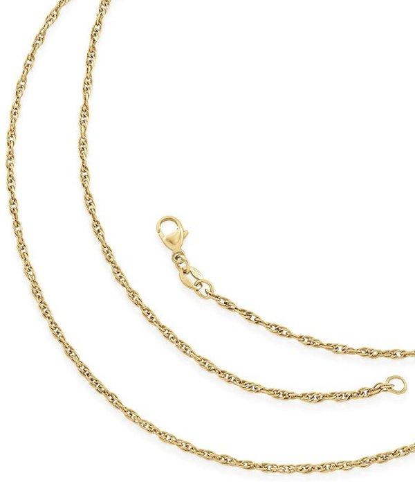 ジェームズ エイヴリー レディース ネックレス・チョーカー アクセサリー Light Rope Chain Gold