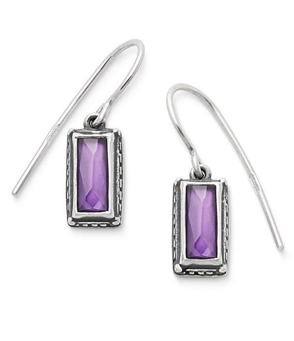 ジェームズ エイヴリー レディース ピアス・イヤリング アクセサリー Palais Violet Doublet Ear Hooks Sterling Purple