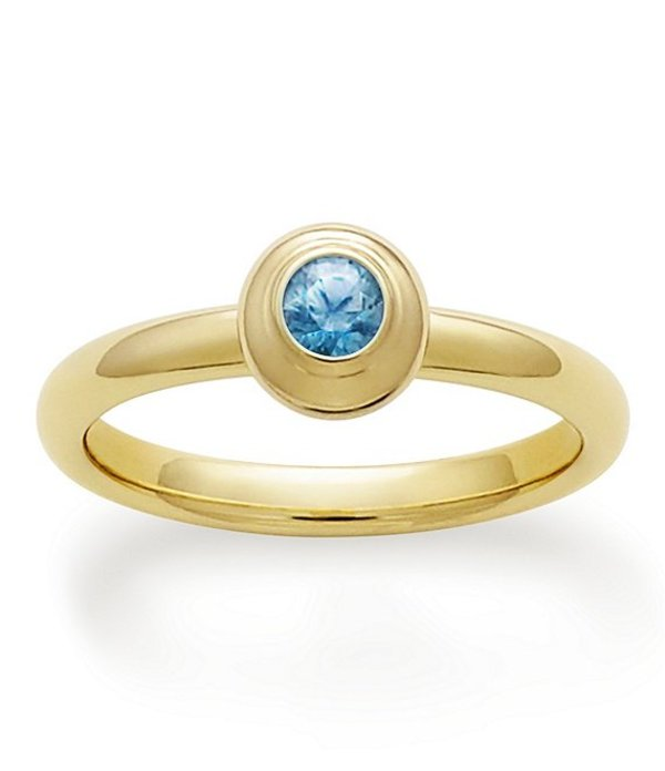ジェームズ エイヴリー レディース 指輪 アクセサリー Remembrance Ring September Birthstone with Blue Zircon 14K Gold/Blue Zircon