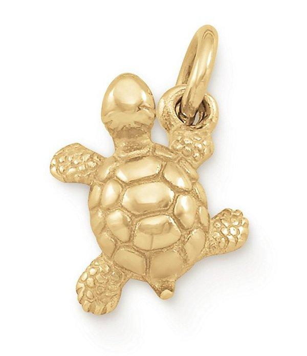 ジェームズ エイヴリー レディース ネックレス・チョーカー アクセサリー Turtle Charm 14K Gold