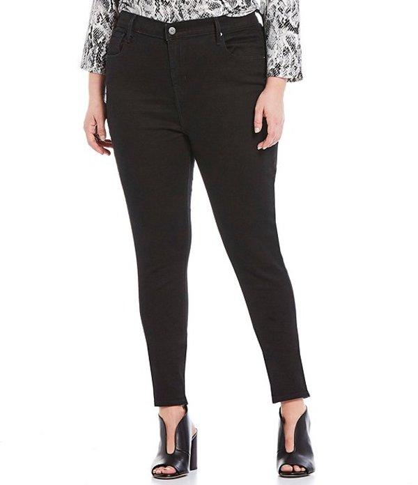 リーバイス レディース デニムパンツ ボトムス Plus Size 721 High-Rise Skinny Jeans Blackened Ash