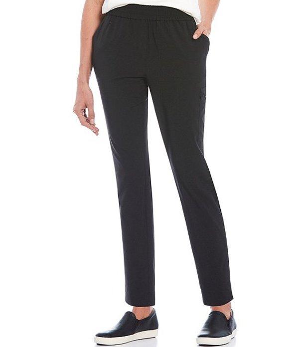 ジョーンズニューヨーク レディース カジュアルパンツ ボトムス Multi Pocket Lightweight 4-Way Stretch Woven Metropolitan Travel Ankle Pant Black