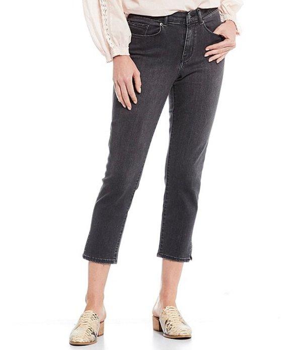 リーバイス レディース デニムパンツ ボトムス Levi'sR Classic Crop Side Slit Jeans Space Black