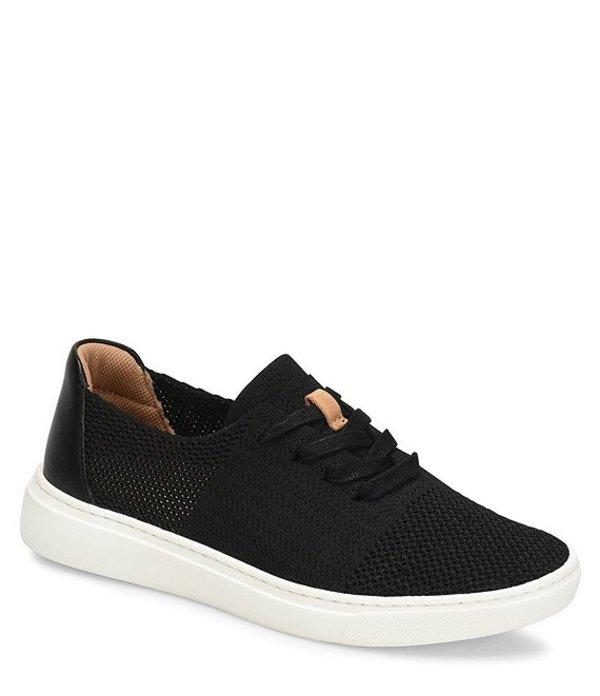 コンフォーティバ レディース スニーカー シューズ Trista Knit Mesh Sneakers Black