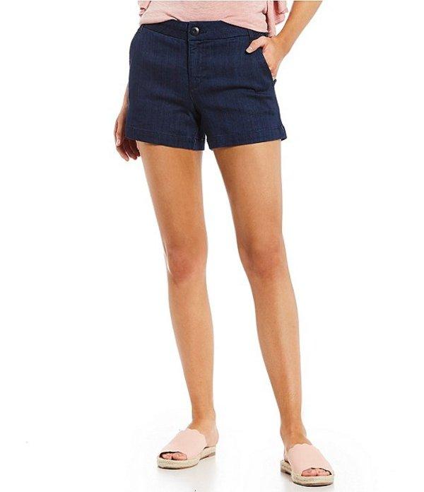 セレブリティピンク レディース ハーフパンツ・ショーツ ボトムス Repreve Super Soft Trouser Shorts Indigo Rinse