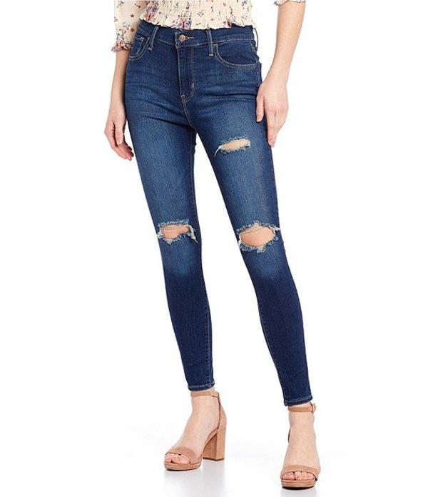 リーバイス レディース デニムパンツ ボトムス Levi'sR 720 High Rise Super Skinny Jeans Checks and Balances