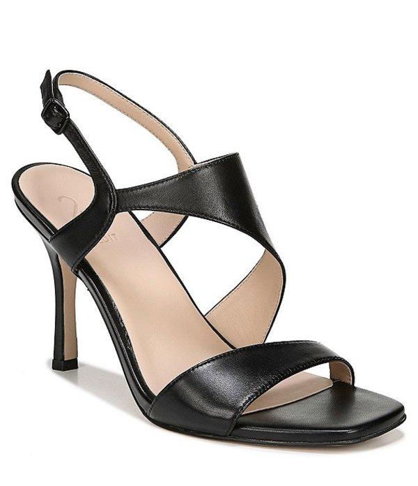 27エディット レディース サンダル シューズ Lanie Leather Dress Sandals Black Leather