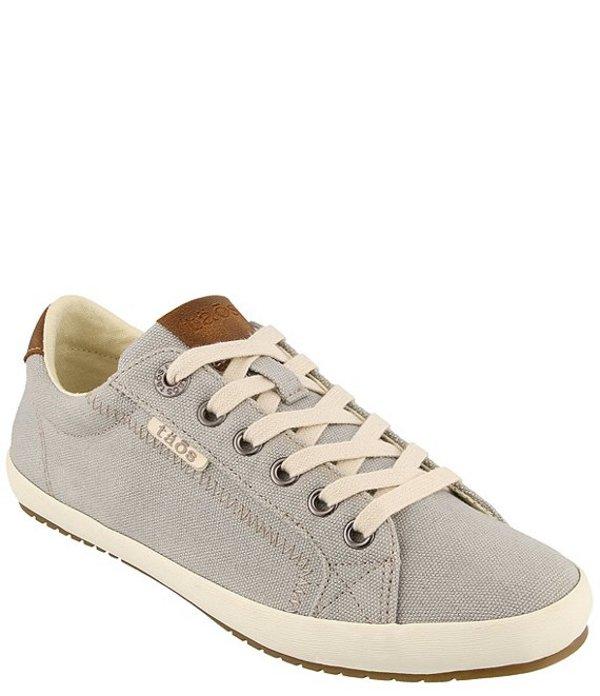 タオスフットウェア レディース スニーカー シューズ Star Burst Canvas Sneakers Grey/Tan