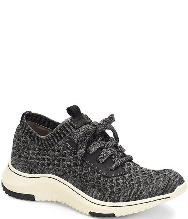 ビオニカ レディース スニーカー シューズ Onie Stretch Knit Mesh Sneakers Black/Grey