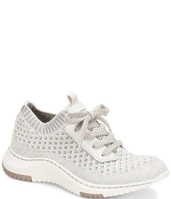 ビオニカ レディース スニーカー シューズ Onie Stretch Knit Mesh Sneakers White/Light Grey