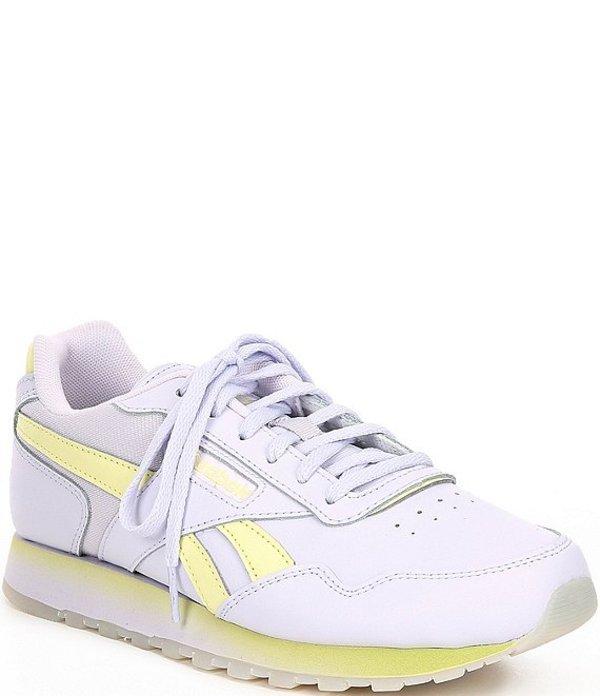 リーボック レディース スニーカー シューズ Women's Classic Harmon Run Shoes Lilac Frost/Lemon Glow/White