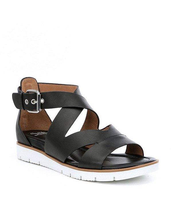 ソフト レディース サンダル シューズ Mirabelle Leather Criss Cross Sandals Black