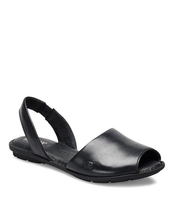 ボーン レディース サンダル シューズ Trang Full Grain Leather Sandals Black