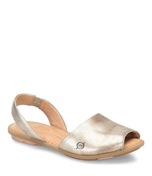ボーン レディース サンダル シューズ Trang Full Grain Leather Sandals Light Gold