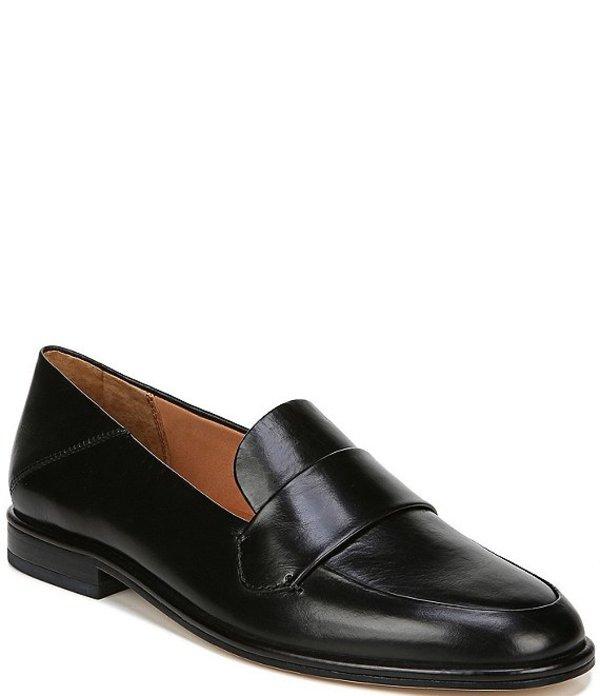 フランコサルト レディース スリッポン・ローファー シューズ Sarto By Franco Sarto Harleen Leather Loafers Black