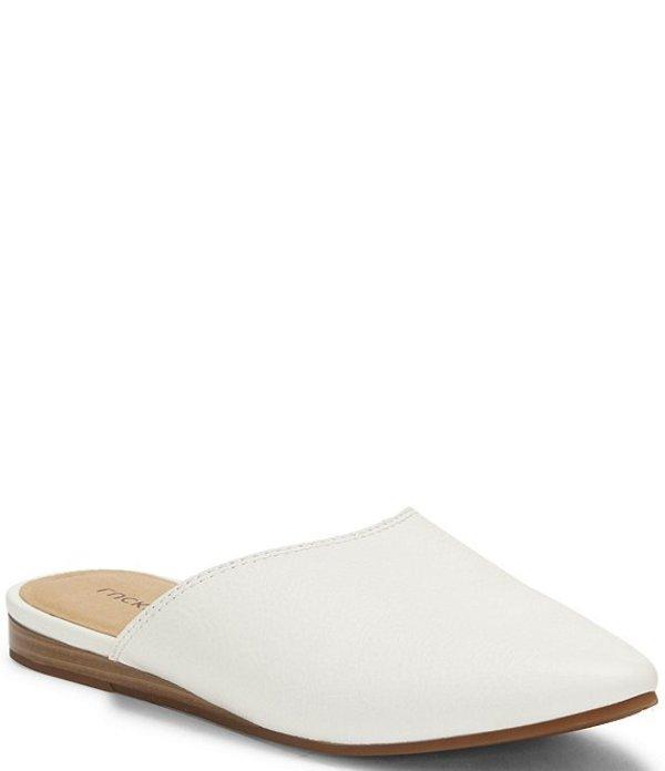 ラッキーブランド レディース サンダル シューズ Bareisha Leather Pointed Toe Mules Angora