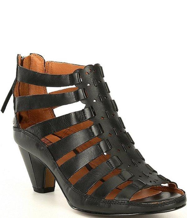 ピコリーノス レディース サンダル シューズ Java Leather Dress Sandals Black