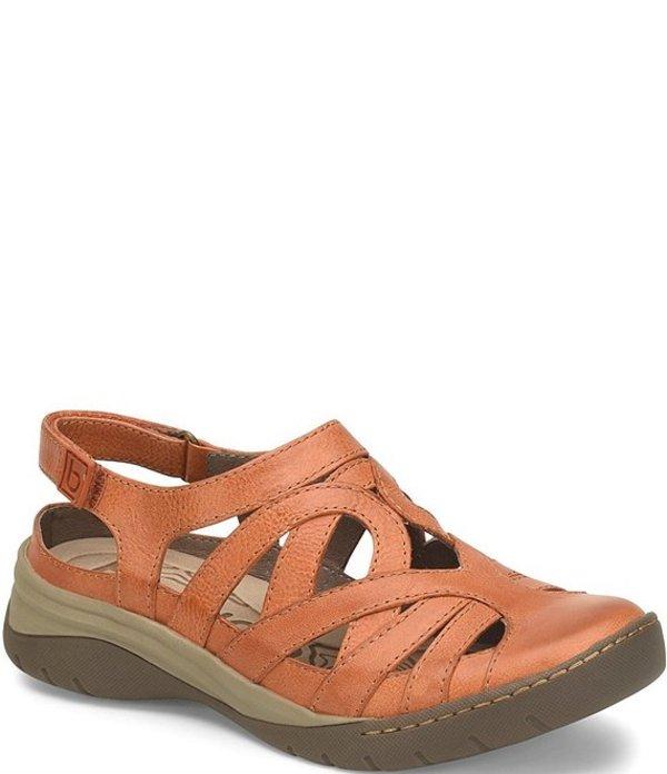 ビオニカ レディース サンダル シューズ Wira Waterproof Leather Closed Toe Sandals Orange