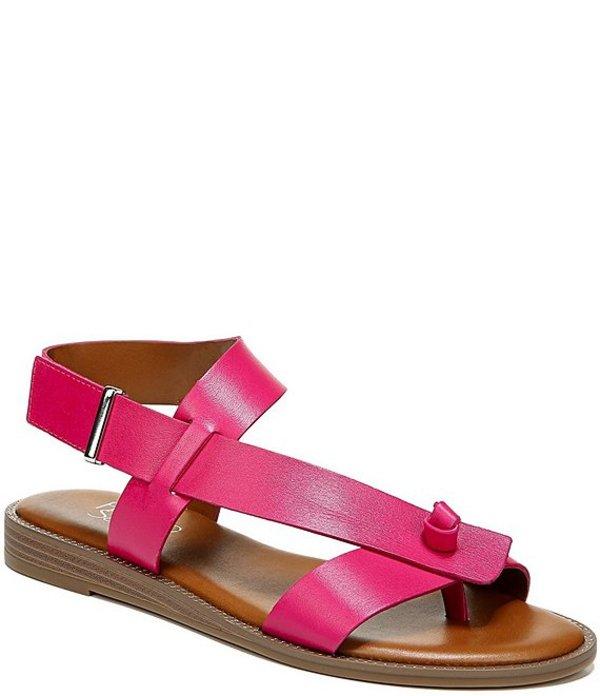 フランコサルト レディース サンダル シューズ Glenni Leather Thong Sandals Fuchsia