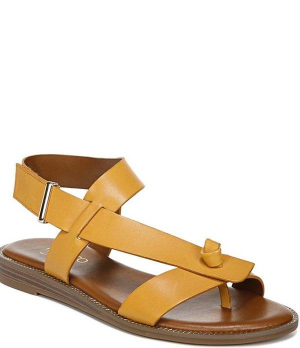 フランコサルト レディース サンダル シューズ Glenni Leather Thong Sandals Goldenrod