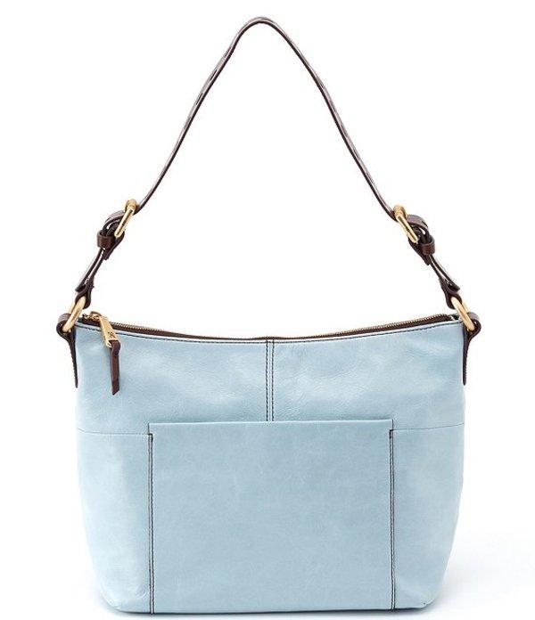 ホボ レディース ショルダーバッグ バッグ Charlie Leather Hobo Bag Whisper Blue