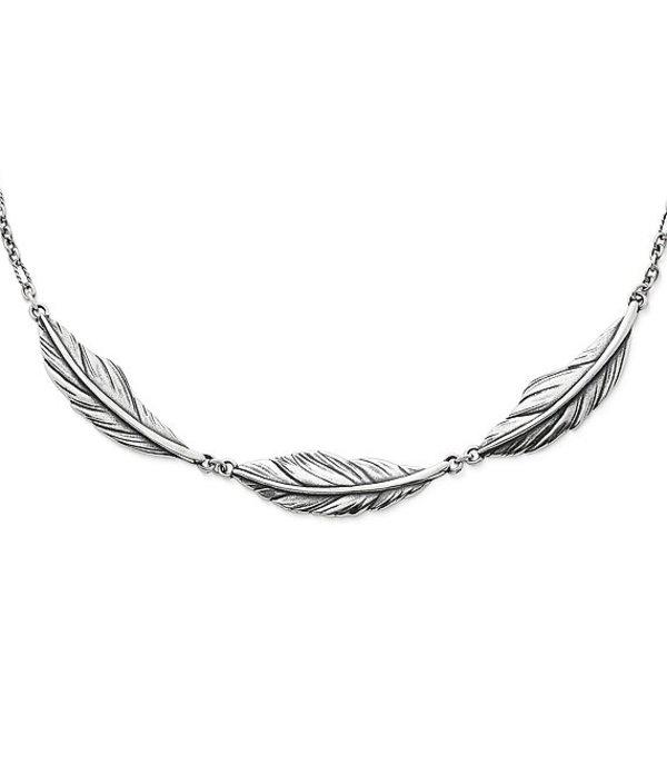 ジェームズ エイヴリー レディース ネックレス・チョーカー アクセサリー Feather Necklace Sterling Silver