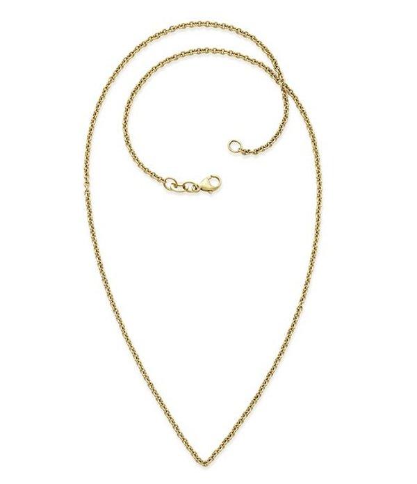 ジェームズ エイヴリー レディース ネックレス・チョーカー アクセサリー 14K Gold Light Cable Chain Necklace Gold