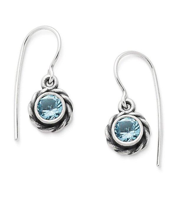 ジェームズ エイヴリー レディース ピアス・イヤリング アクセサリー Elisa Ear Hooks November Birthstone with Blue Topaz Sterling Blue
