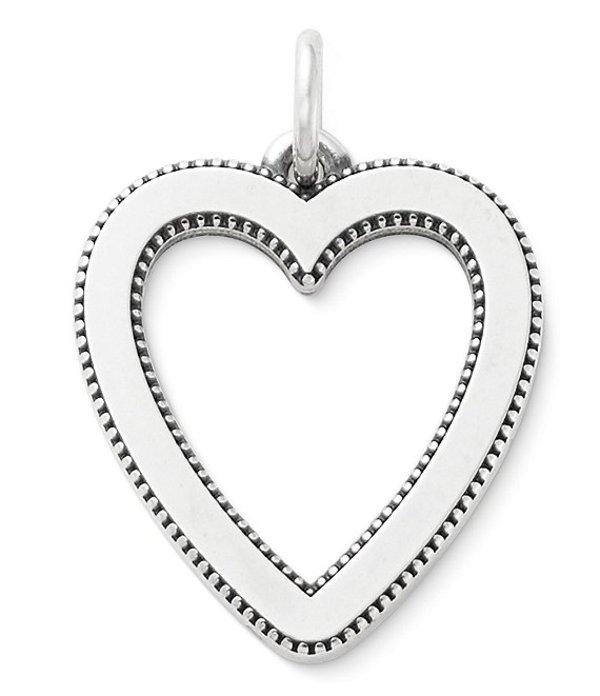 ジェームズ エイヴリー レディース ネックレス・チョーカー アクセサリー Vintage Heart Pendant Sterling Silver