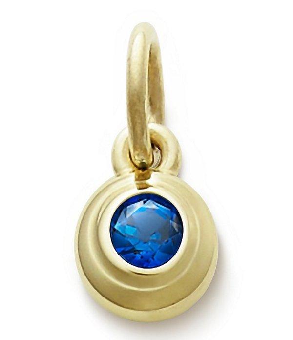ジェームズ エイヴリー レディース ネックレス・チョーカー アクセサリー Remembrance Pendant September Birthstone with Lab-Created Blue Sapphire Gold/Blue Sapphire