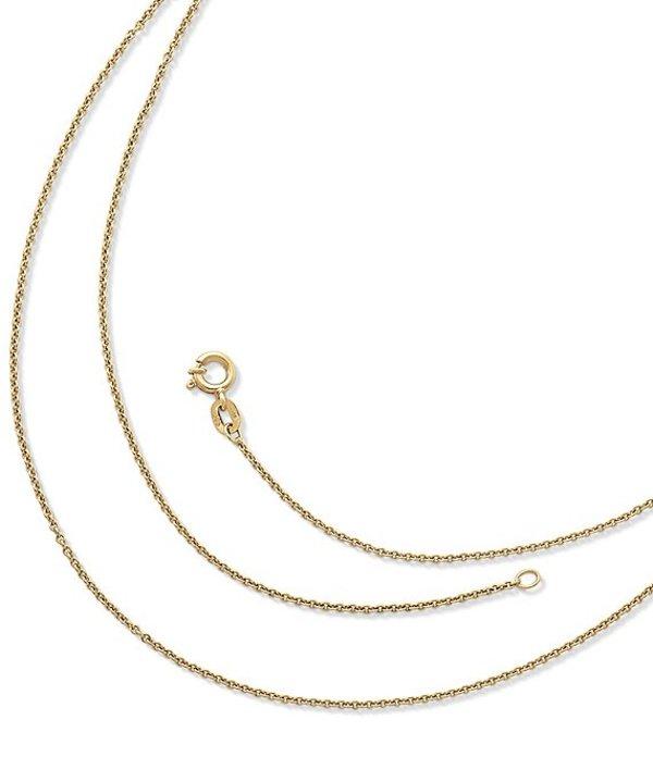 ジェームズ エイヴリー レディース ネックレス・チョーカー アクセサリー Fine Cable Chain Gold
