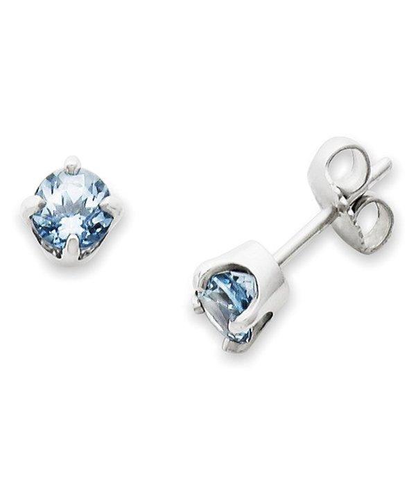 ジェームズ エイヴリー レディース ピアス・イヤリング アクセサリー Lab-Created Aqua Spinel Gemstone March Birthstone Ear Posts Sterling Aqua