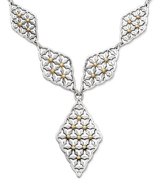 ジェームズ エイヴリー レディース ネックレス・チョーカー アクセサリー Lattice Necklace Silver/Gold