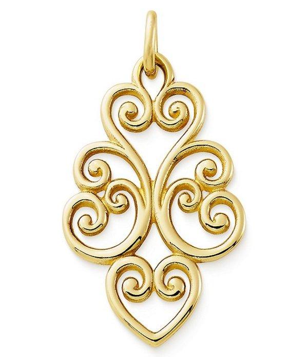 ジェームズ エイヴリー レディース ネックレス・チョーカー アクセサリー Jewelry Jubilant Heart Pendant Gold