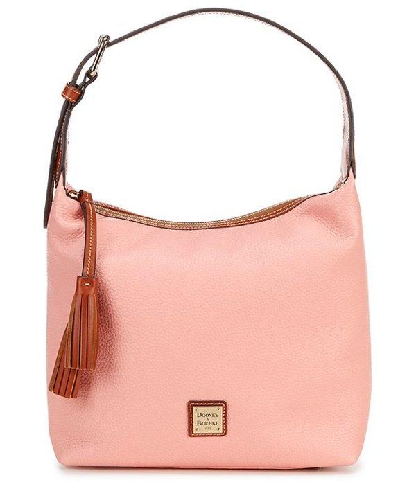 ドーネイアンドバーク レディース ショルダーバッグ バッグ Pebble Collection Paige Sack Hobo Bag Pale Pink