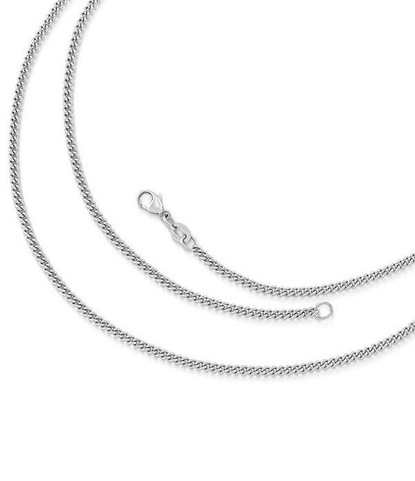 ジェームズ エイヴリー レディース ネックレス・チョーカー アクセサリー Light Curb Chain Sterling Silver