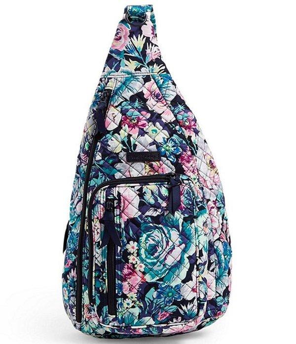 ベラブラッドリー レディース ハンドバッグ バッグ Iconic Sling Backpack Garden Grove