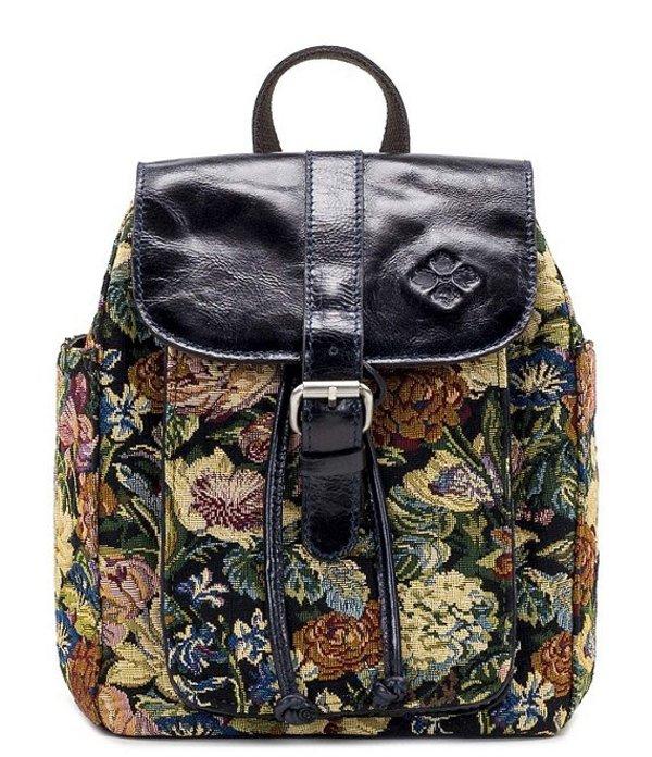 パトリシアナシュ レディース バックパック・リュックサック バッグ Floral Tapestry Collection Aberdeen Backpack Woven Floral