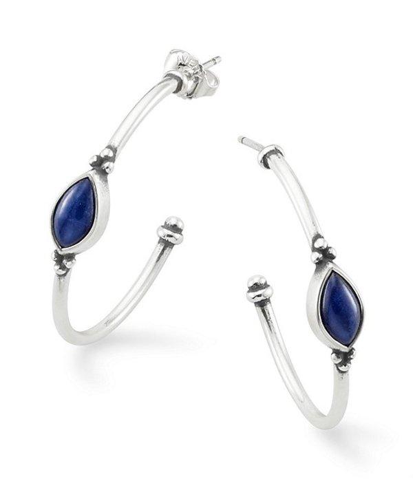 ジェームズ エイヴリー レディース ピアス・イヤリング アクセサリー Adela Hoop Ear Sodalite Earrings Sterling Blue