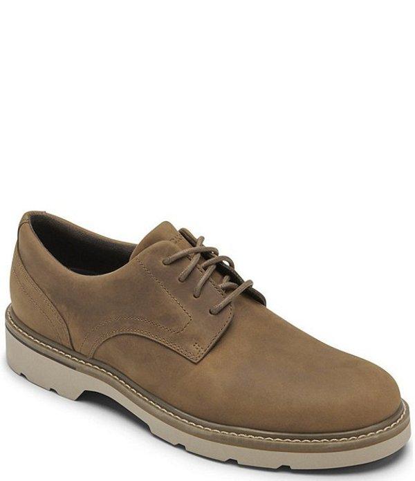ロックポート メンズ ドレスシューズ シューズ Men's Charlee Waterproof Leather Plain Toe Oxfords Spice