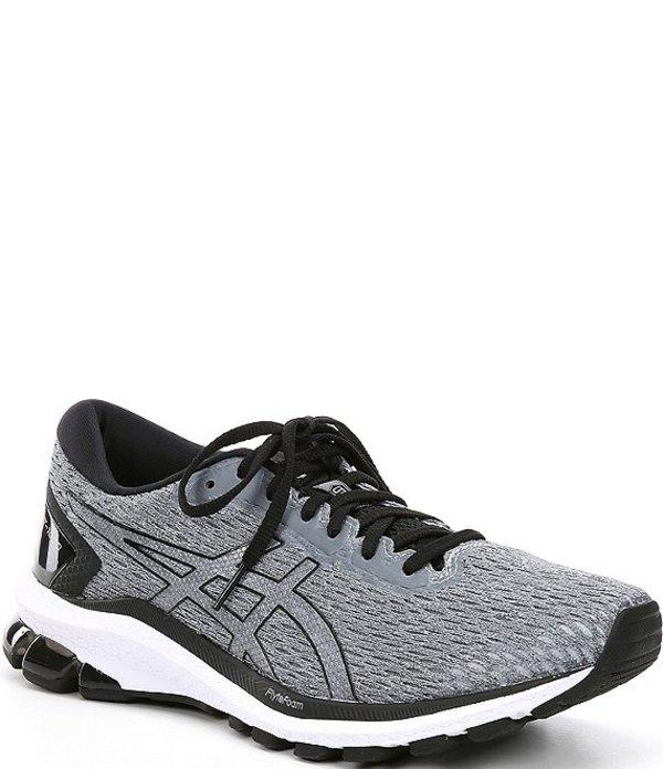 アシックス メンズ スニーカー シューズ Men's GT-1000 9 Waterproof Mesh Running Shoes Piedmont Grey/Pure Silver