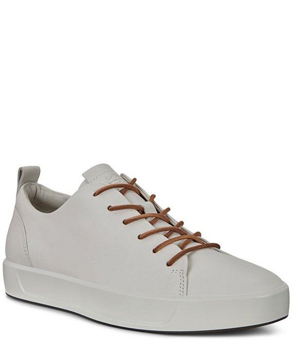 エコー メンズ ドレスシューズ シューズ Men's Soft 8 Dri-Tan LX Sneakers White